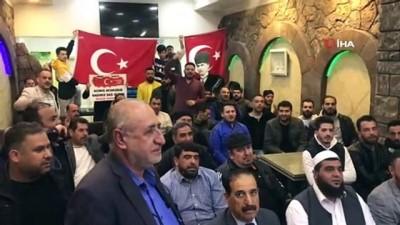 hain saldiri -  Suriyeli ve Iraklı sığınmacılardan Türk askerine destek
