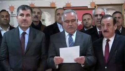AK Parti İl Başkanı Rahmetullah Yaktı, Cumhurbaşkanı Erdoğan'a hakarette bulunan CHP grup başkanvekili Özkoç'a tepki gösterdi