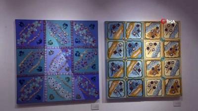 'Sessizliğin ve Sabrın Renkleri' adlı resim sergisi sanatseverlerle buluştu