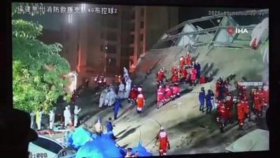 - Çin'de çöken karantina otelinin enkazından 49 kişi kurtarıldı