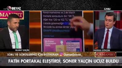 Osman Gökçek, 'Soner Yalçın'ın bu fiyatları bilmemesi normal'