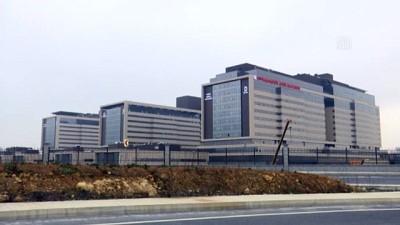 (TEKRAR) Başakşehir Şehir Hastanesi'nde hizmet için geri sayım başladı - İSTANBUL