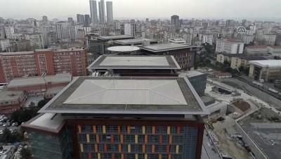 (TEKRAR) Göztepe Şehir Hastanesi'nde hizmet için geri sayım başladı (DRONE) - İSTANBUL