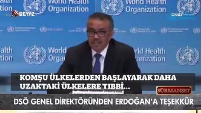 DSÖ Genel Direktöründen Erdoğan'a teşekkür