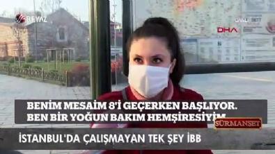 İstanbul'da çalışmayan tek şey İBB