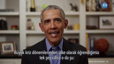 Obama 2020 Seçiminde Joe Biden'a Desteğini Açıkladı