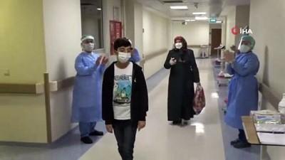 14 yaşında korona virüsü yendi