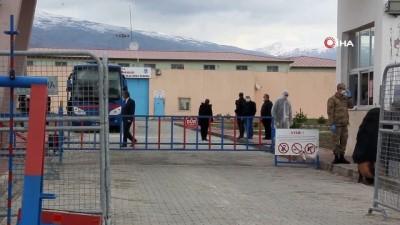 Erzincan Ceza İnfaz Kurumunda Korona virüs tedbirleri
