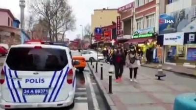 """toplu tasima -  İstanbul polisinden toplu taşımadaki yolculara """"sosyal mesafe"""" uyarısı"""
