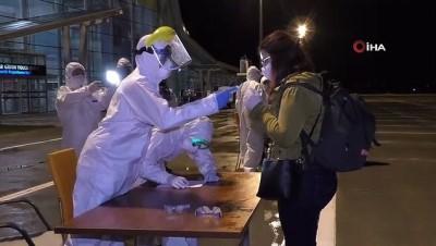 İrlanda'dan Kars'a gelen 115 kişi karantinaya alındı
