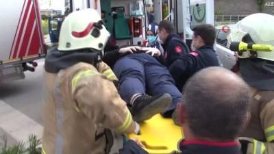 saglik gorevlisi -  Nöbetten dönen sağlık görevlisi kaza yaptı