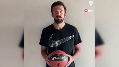 basketbol - Cengiz ve Mert'ten sonra Sertaç Şanlı da kervana katıldı