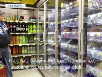supermarket - Ellerinizi Kullanmadan Kapıları Açmak Artık Mümkün