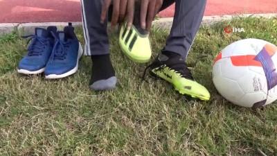 Galatasaray'a denenmek için gelen Kamerunlu genç futbolcuya virüs engeli