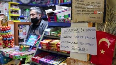 gizemli -  Karaman'da gizemli hayırsever mahallenin tüm borcunu sildirdi
