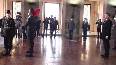 Milli Eğitim Bakanı Selçuk, Anıtkabir'i ziyaret etti