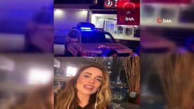 sarkici -  - Ünlü şarkıcı Şimal Eskişehir 112 çalışanlarına şarkılar söyleyerek moral verdi - Sosyal medya üzerinden canlı bağlantı yaparak 112 personelinin istek şarkılarını seslendirdi