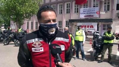 kamu calisanlari -  Vefa Sosyal Destek Grupları'nın yardımına motosikletliler yetişti