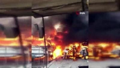 - Afrin'de terör örgütü PKK/YPG'nin bombalı araç saldırısında ölü sayısı 40'a ulaştı - Yaralı sayısı 47'ye yükseldi