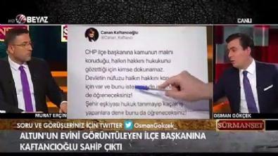 Kaftancıoğlu'na sert sözler: Biz de sizin evinize kamera koysak...!!