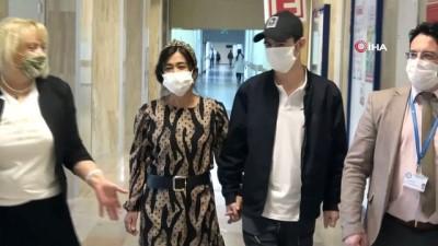 Umutların kesildiği Özbek hastaya pandemi döneminde başarılı nakil