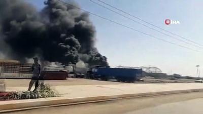 - Irak'ta petrol boru hattında yangın çıktı