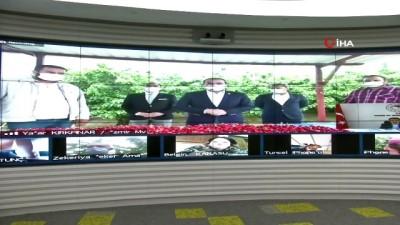 organik tarim -  Bakan Pakdemirli video konferansla kiraz hasadına katıldı