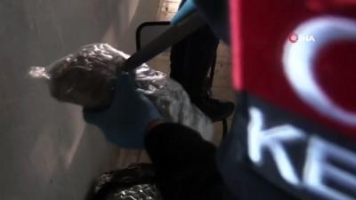 Hamzabeyli'de 24 Milyon 650 bin adet makaron ile 44 kilogram esrar ele geçirildi