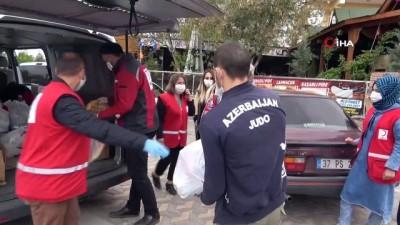 Memleketlerine gidemeyen yabancı öğrencilere, Kızılay'dan yardım