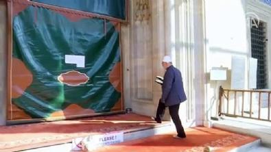 Süleymaniye Camisi'nde salgın mahzunluğu!