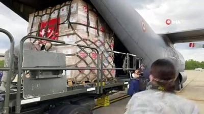- Türkiye'nin 2. tıbbi yardım uçağı ABD'ye ulaştı
