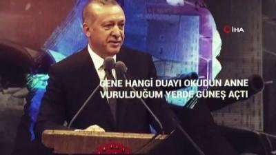 Cumhurbaşkanı Erdoğan'dan anneler gününe özel paylaşım