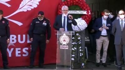 bassagligi -  Kadıköy'deki feci kazada hayatını kaybeden itfaiye erleri için cenaze töreni düzenlendi