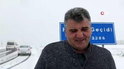 yagisli hava -  Kars'ta gar, gış, gıyamet