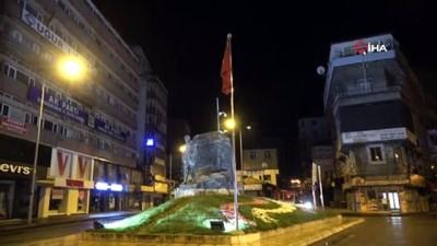 Zonguldak'ta 48 saatlik kısıtlama sona erdi