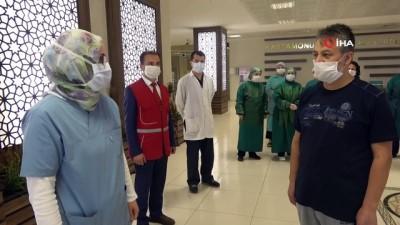 Kastamonu'da ikinci plazma tedavisi uygulanan hasta taburcu edildi