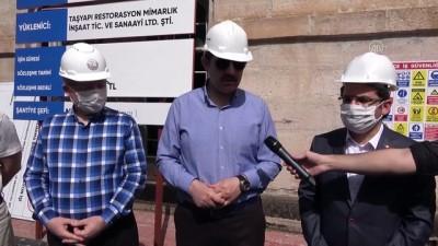 112 yıllık tarihi jandarma binası restore ediliyor - SİVAS
