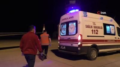 bebek -  Ambulans Uçak Kübra bebek için Ağrı'dan Ankara'ya havalandı