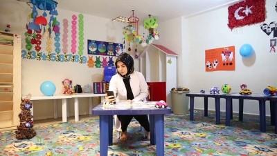 'Evde kalan' kadın ve çocuklara 'online' destek - DİYARBAKIR