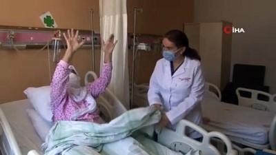 kalp krizi -  Felçli kadın 'mekanik trombektomi' yöntemiyle yeniden hayata tutundu