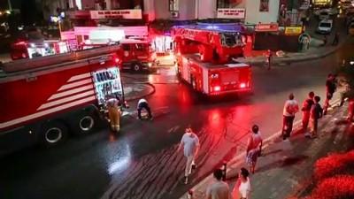 İş yerinde çıkan yangın hasara neden oldu - İZMİR