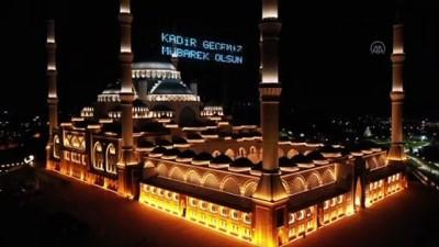 Kadir gecesi - Büyük Çamlıca Camisi - İSTANBUL