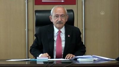 issizlik - Kılıçdaroğlu, video konferans ile gençlerle buluştu (2) - ANKARA
