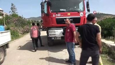 Kozan'da 1 hektarlık orman alanı yandı