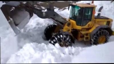 Van'da mayıs ayında karla mücadele çalışması