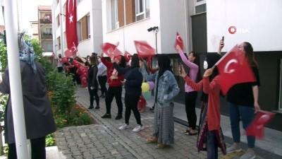 Yabancı öğrencilerin 19 Mayıs kutlaması