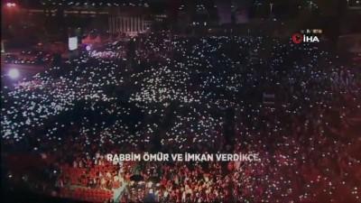 Cumhurbaşkanı Erdoğan, AK Parti'ye dönüşünün 3'üncü yıl dönümünde anlamlı bir video paylaştı