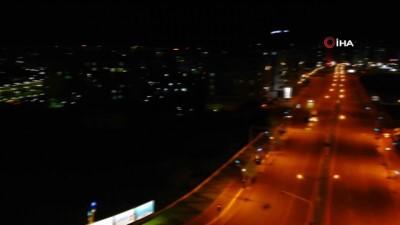 Diyarbakır, gece hayalet şehre döndü