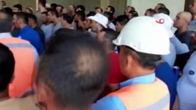 Suudi firmasının Türk işçilere dönüş izni vermediği iddiası
