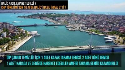 AK Parti İstanbul İl Başkanı Şenocak'tan 'Haliç' paylaşımı - İSTANBUL
